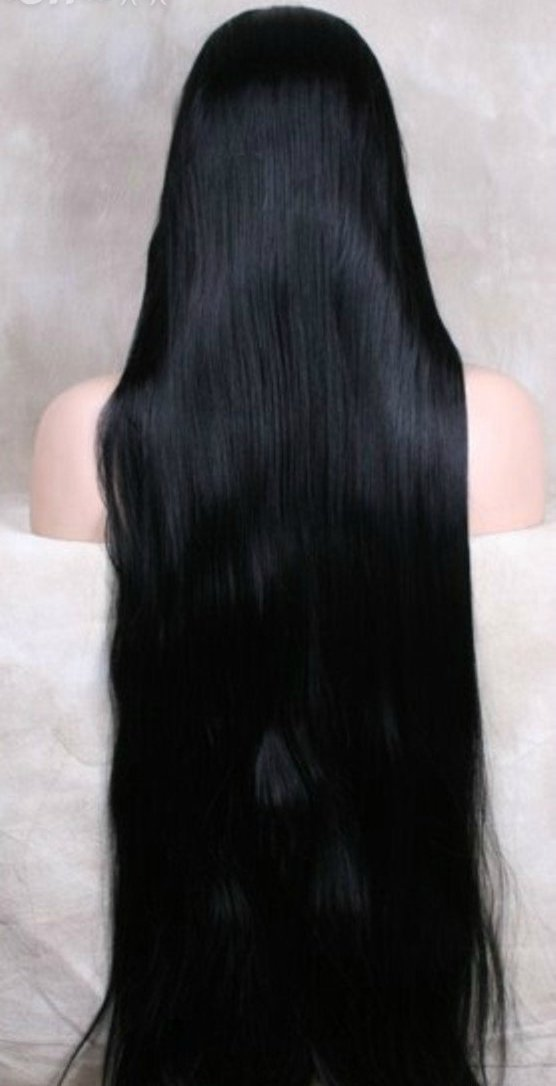 lace wig silky straight glueless