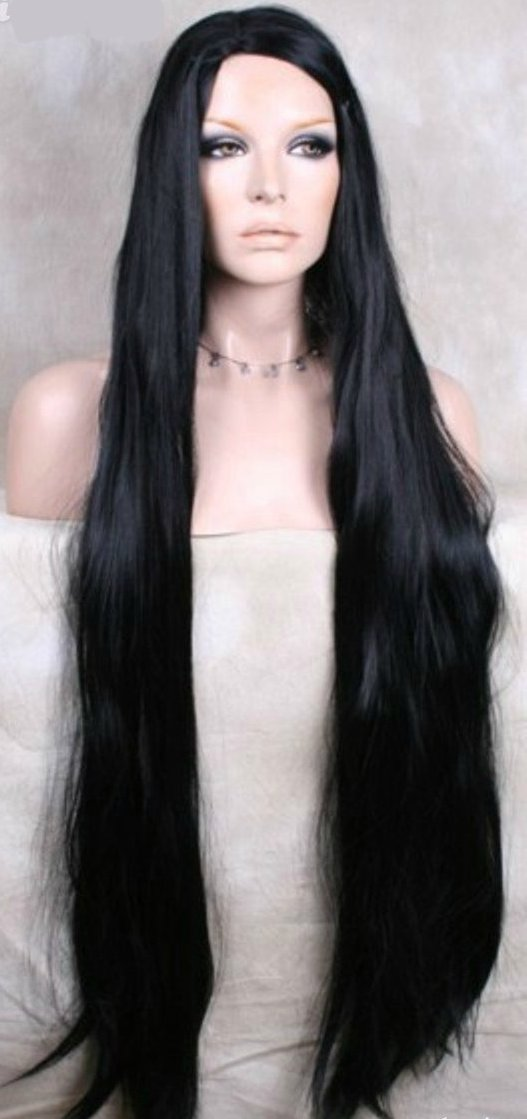 lace wig silky straight